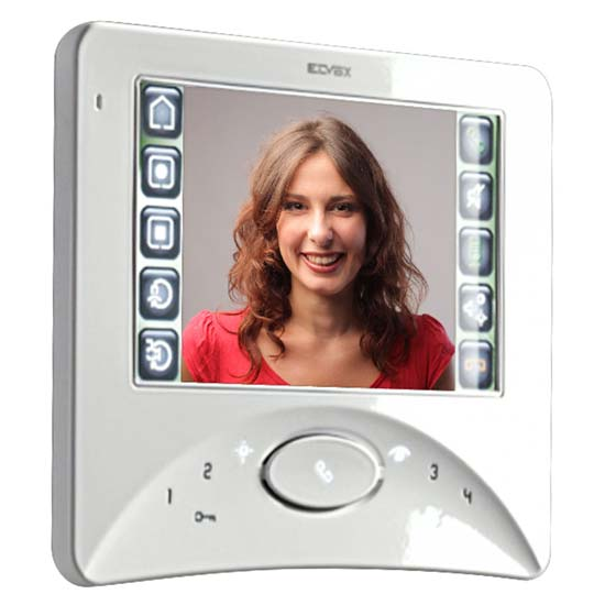 Elvox 7300 Series Touch screen hands free video monitor apartment unit