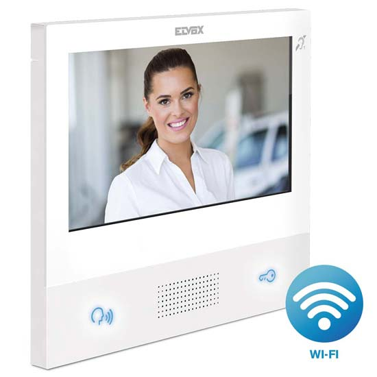 Elvox Tab 7 Series hands free apartment units with WiFi